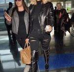 KHLOE KARDASHIAN Arrives at JFK Airport in New York
