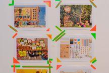 Universo WASHITAPES / Board de ideias geniais para o uso das queridas washi tapes