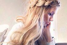 Peinados, cabello y maquillaje