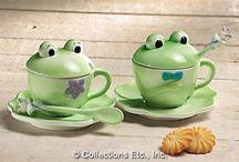Frosch-Geschirr