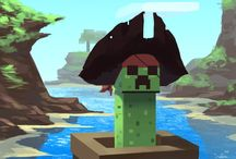Minecraft creepers