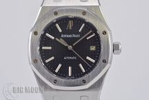 BIGMOON Audemars Piguet Watches / A board of our newest arrivals of pre-owned Audemars Piguet watches.