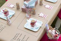 At the table. / by Kari Pins