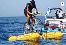vodný bicykel