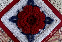 Crochet Granny Squares & Motifs / This board contains a variety of granny square motifs.