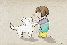 Illustrations / by me... fergutiyama.tumblr.com