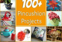 Pincushions and needlecases