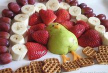 Decorare la torta con frutta