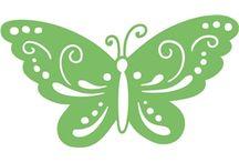 scanncut farfalle