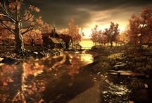 3D Environments / Environments and Scenarios, both Real-Time as Render