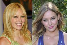 famosos antes y ahora