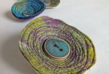 Felted Thingies / Jewellery, little fun things, interesting ideas