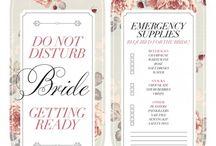 printable wedding