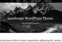Design Freebies - Wordpress Themes / by Trevor Van As