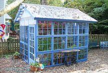 Greenhouses / by Poteau Pets