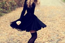 Little Black Dress / by Lace & Pearls