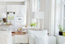 white home, weißes Zuhause
