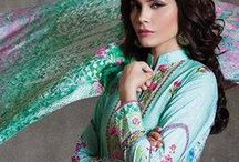 Sapphire Cambric Suits Collection 2015