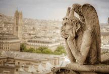 Gargoyles of near and distant places