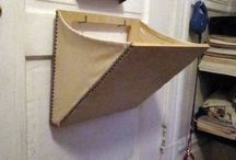 mail slot basket
