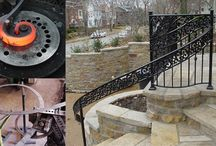 Ornamental Iron / Our detailed and stunning iron work brings elegance and beauty to any property. www.aanda.com