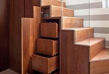 Décoration: Escalier et rangement