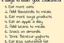 Lower my cholesterol ❤️