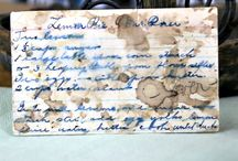 Vintage Recipes / Take a step back in time to view the recipes of our past. http://vintagerecipeproject.com / by Billie Hillier