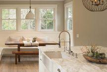 Home decor white kitchens