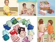Sewing Diapers / Windeln nähen