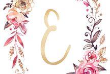 Letters monograms