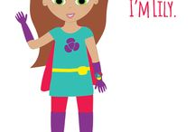 Lily Linkitz / Lily is the ultimate Linkitz sidekick! She helps girls on their Linkitz journey and encourages them to create whatever they dream.
