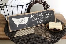 Bath / by The Rustic Sign