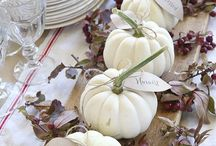Herbst Tischdekorationen