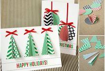 Christmas card ideas / Joulukortti ideoita