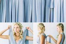 draperad klänning