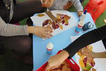 Autumn sensory activiites / Autumn activities and crafts for babies and toddlers.