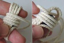 Knoten flechten