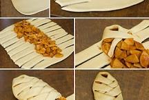 braided  apple strudel