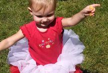 My darling granddaughter