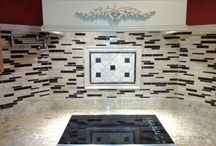 SJM Kitchen Projects / A tile backsplash or tile floor has a beauty and versatility that can change your kitchen from boring to breathtaking! Weather you are looking for classic, rustic or somewhere in between, with a little help and guidance from our experts, you can completely transform your kitchen.