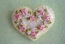 brooch  embroidery