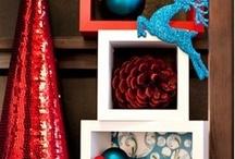 Holiday window display