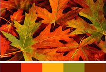 Orange, Green & Yellow Card Inspiration / The Kraft Journal Challenge Blog Autumn Inspiration.