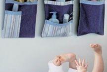 Salle de bain de bébé / Astuces, idées de décoration pour une salle de bain parfaite pour l'arrivée de bébé !