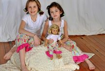 Made in the USA:  AMERICAN GIRL DOLL / My girl has a new American Girl Doll... and she says her new toy needs some outfits.  Now... the irony of American Girl... is that nothing is made in America... but there is a way to dress her in American Made clothing... etsy.  Not only will you support local, you'll save $$$ too.  That's what I call a win, win, win.