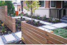 fencing and garden
