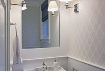 POWDER ROOM / Powder Rooms with that extra something special