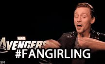 Fangirling /  Lots of fangirling