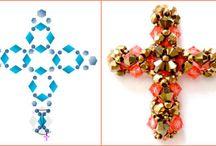beaded crosses